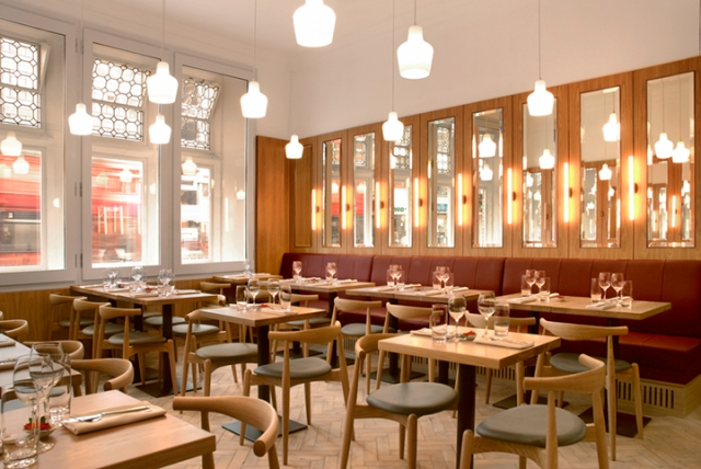 Angel Hartnett: Whitechapel Gallery Dining Rooms