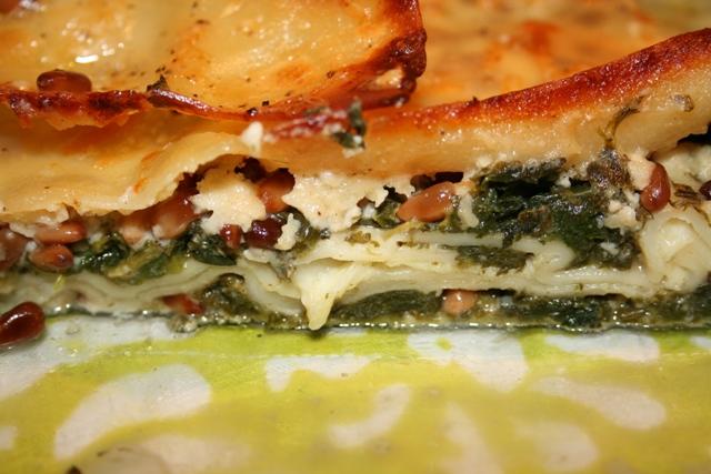 nettle lasagna