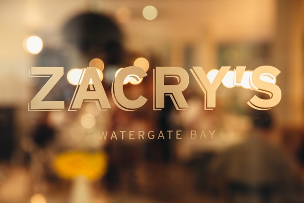 Zacry's, Watergate Bay: create your own food story